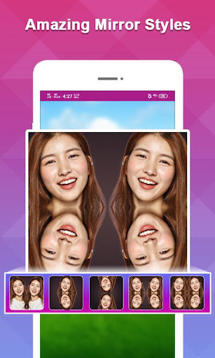 Echo Mirror Magic Photo Editor & Background Edit screenshot 7