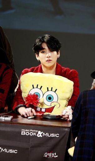 Jungkook BTS SpongeBob