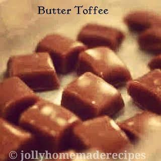 Homemade Butter Toffee | Butter Caramels.