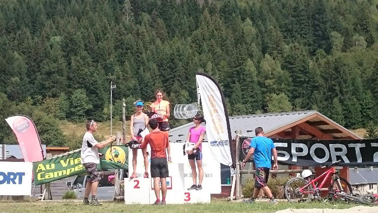 Le podium féminin - Source : Carole ADAM