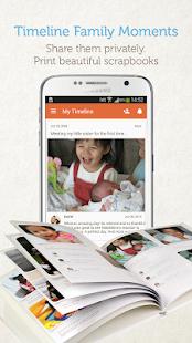 Tweekaboo: Baby Photo Book screenshot