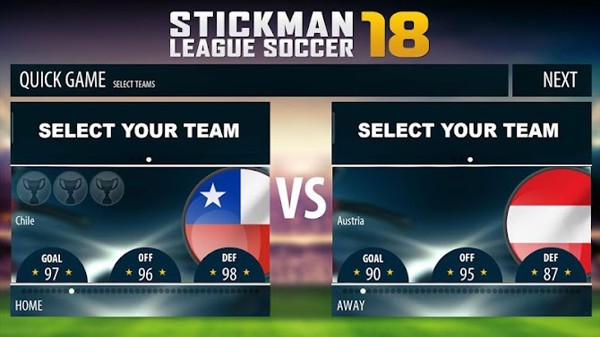 Stickman League Soccer 2018 Android 3