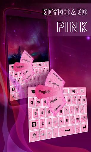 子供のためのピンクのキーボード