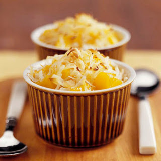 Roasted Mango with Coconut