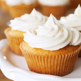 Vanilla Spice Cupcakes.