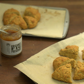 Whole Wheat Fig Scones.