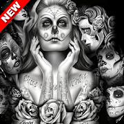 Mexican Skull Wallpaper