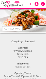 Curry Royal Tandoori- screenshot thumbnail