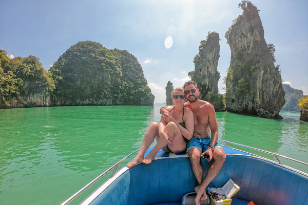 Cruise around the little James Bond Island at Koh Kudu