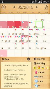 Period Calendar / Tracker v1.538.95