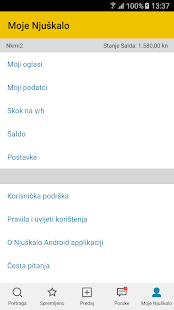 Njuškalo- screenshot thumbnail