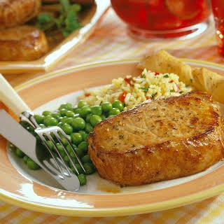 Balsamic Pork Chops.