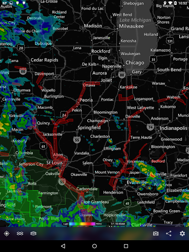 MyRadar Weather Radar Ad Free screenshot 11