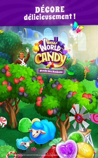 Wonka : Monde des Bonbons – Match 3  captures d'écran 5