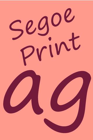 Segoe Print FlipFont screenshot 7