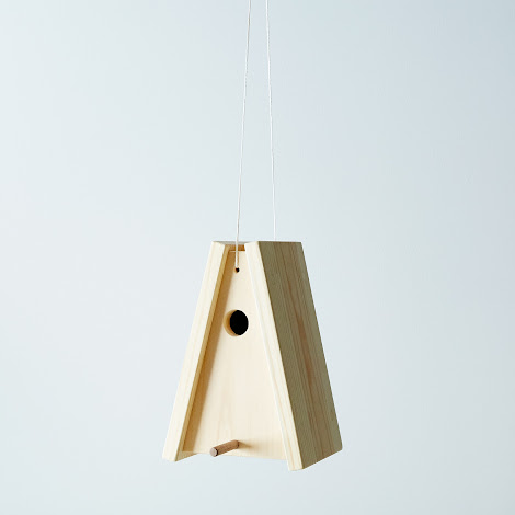 Wooden Bird's House