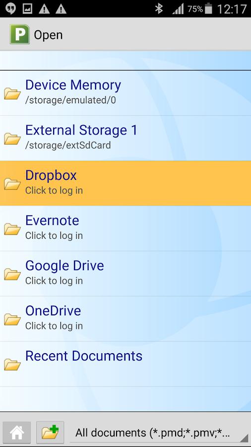Office: PlanMaker Mobile- screenshot