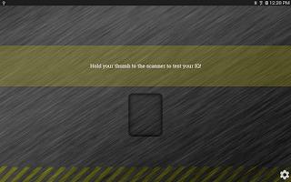 Screenshot of IQ Scanner Prank