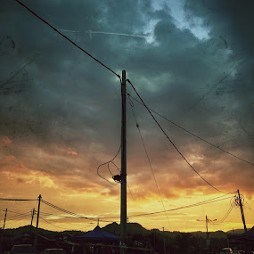 the sunset by Syahidee Omar - Instagram & Mobile iPhone