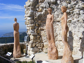 Photo: The Garden contains some interesting statuary, here the Earth Goddesses.