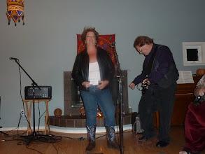 Photo: Terri singing.jpg