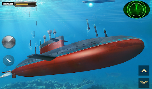 US Army Submarine Games : Navy Shooter War Games Screenshot
