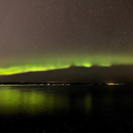 Nortern lights by Roald Heirsaunet - Landscapes Starscapes