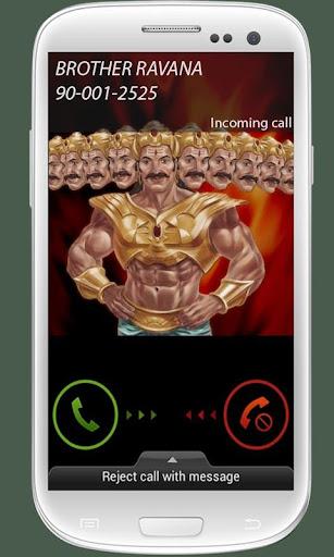 Ravana Calling.... Fake Call