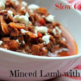 Slow Cooked Lamb Mince with Feta.