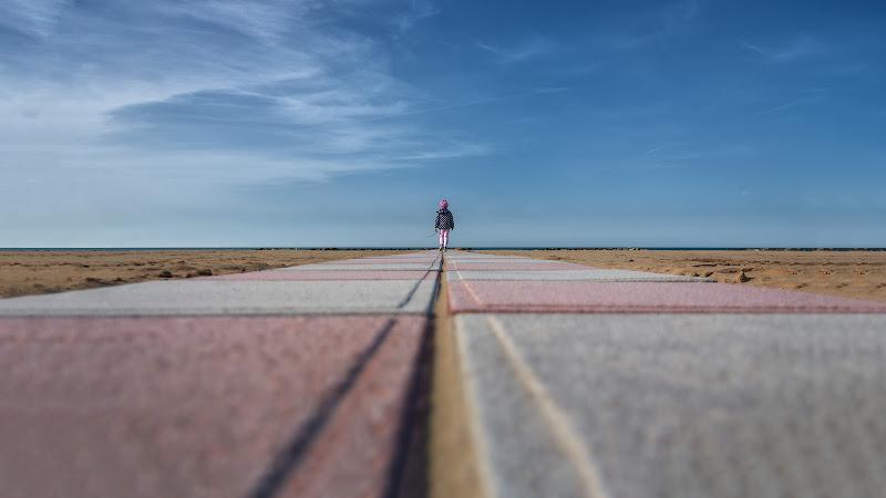 fuga verso il mare di Rino Lio