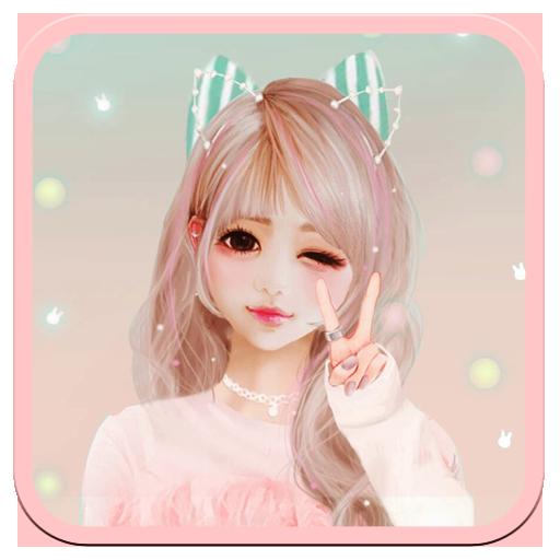 かわいい女の子のテーマ 生活 App LOGO-硬是要APP
