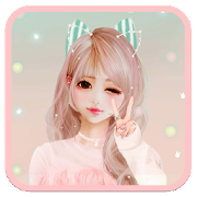 App Cute Girl Theme APK for Windows Phone