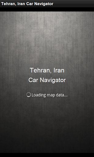 GPS導航 伊朗德黑蘭