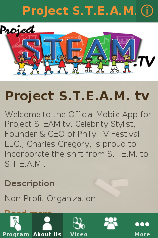 Project S.T.E.A.M tv- screenshot