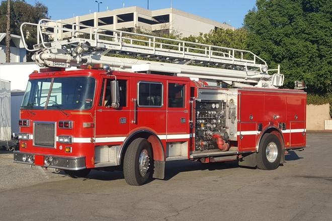 Firetruck Hire CA