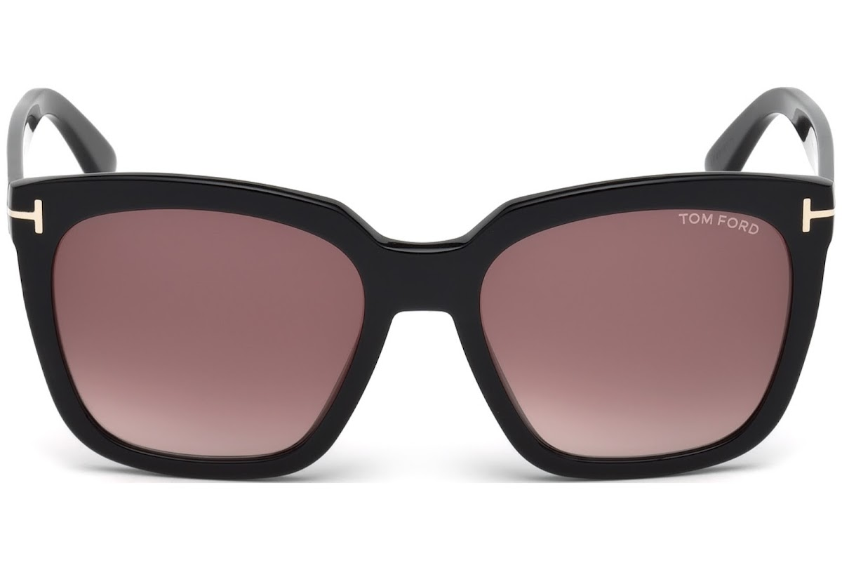 ff896d0905 ... Tom Ford Amarra FT0502 C55 01T (shiny black   gradient bordeaux). 1  customer reviews