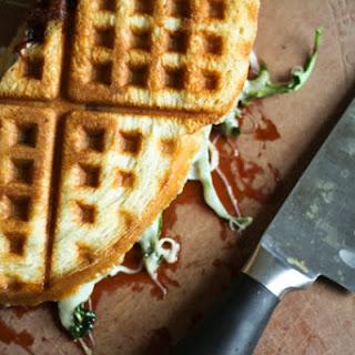 Waffle-Iron Ham and Cheese Paninis Recipe
