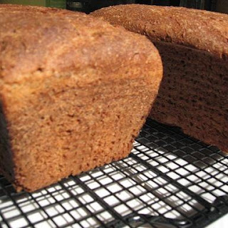Honey Whole Wheat Sourdough Bread