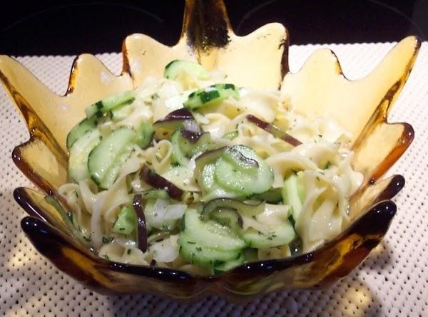 Fresh  Summer Vegetable  Noodle  Salad Recipe