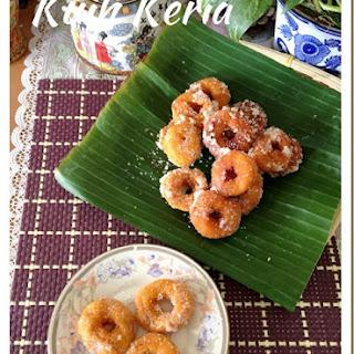 Sweet Potatoes Donuts aka Kuih Keria (甜薯圈).