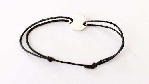 bracelet petite-pastille-plate