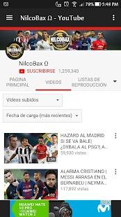 Nilcobax YouTuber - náhled