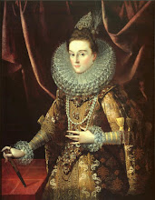 Photo: Juan Pantoja de la Cruz, The Infanta Isabella Clara Eugenia of Spain, 1599