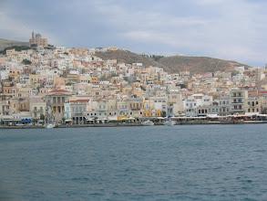 Photo: Matkalla Mykonokselle, taustalla Syros