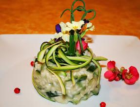 Photo: Risotto con zucchine