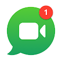 free video calls and chat icon
