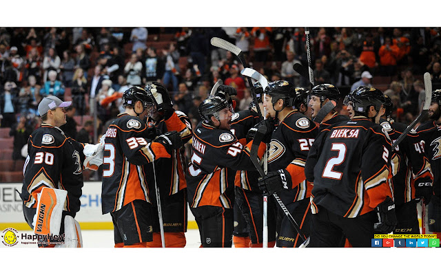 Anaheim Ducks Tab