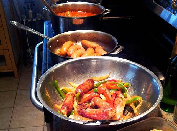Italian Feast Style Sausage & Peppers Recipe