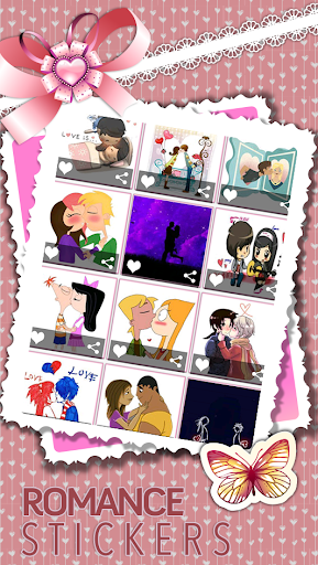 Love Stickers - Valentine  screenshots 4
