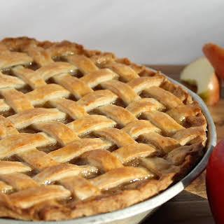 Rustic Homemade Apple Pie.